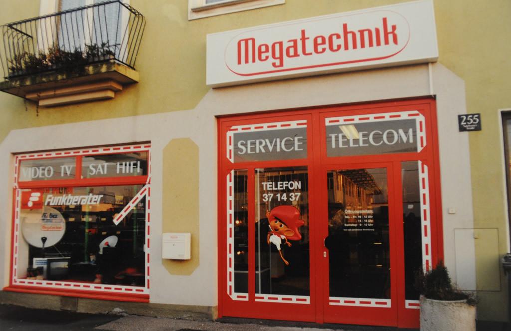 Standort in der Salzburgerstraße 255 in Linz.