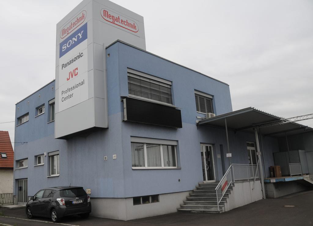 Megatechnik Geschäftsgebäude