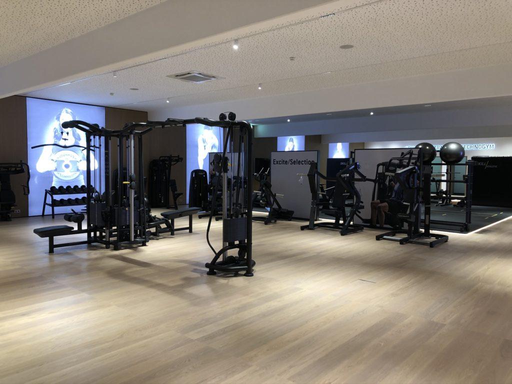 Fitnesscenter Training
